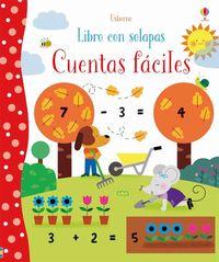 CUENTAS FACILES - LIBRO CON SOLAPAS