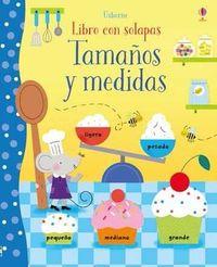 TAMAÑOS Y MEDIDAS - LIBRO CON SOLAPAS