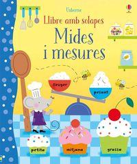 MIDES I MESURES - LLIBRE AMB SOLAPES