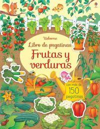 FRUTAS Y VERDURAS - LIBRO DE PEGATINAS