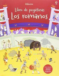 Romanos, Los - Libros De Pegatinas - Fiona Watt / Paul Nicholls (il. )
