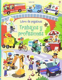 PROFESIONES, LAS - LIBRO DE PEGATINAS
