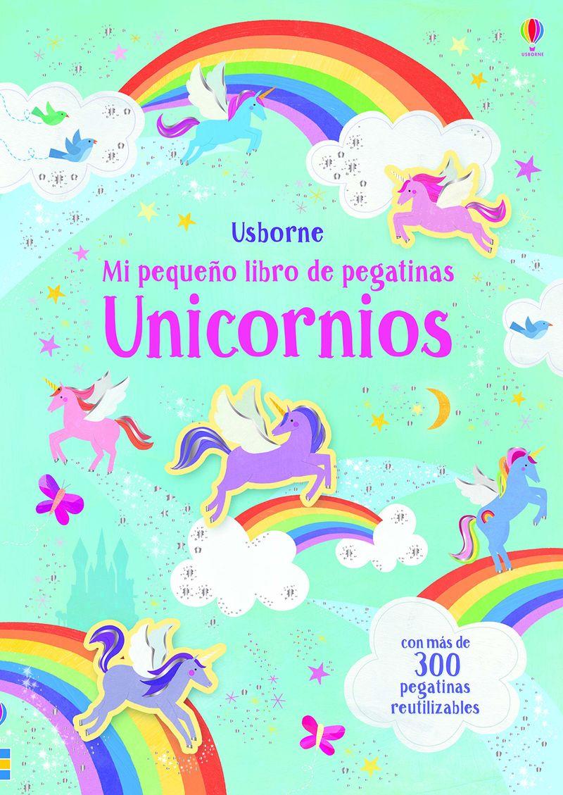 UNICORNIOS - MI PEQUEÑO LIBRO DE PEGATINAS