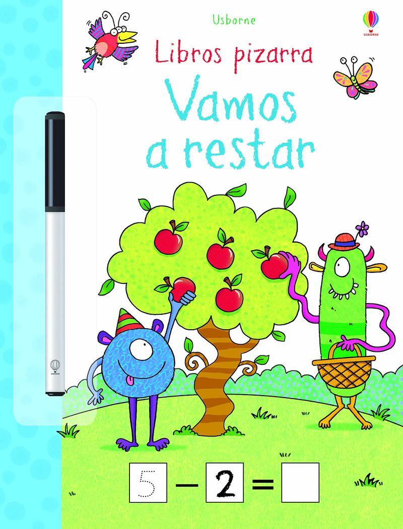 VAMOS A RESTAR - LIBROS PIZARRA (+ROTULADOR)