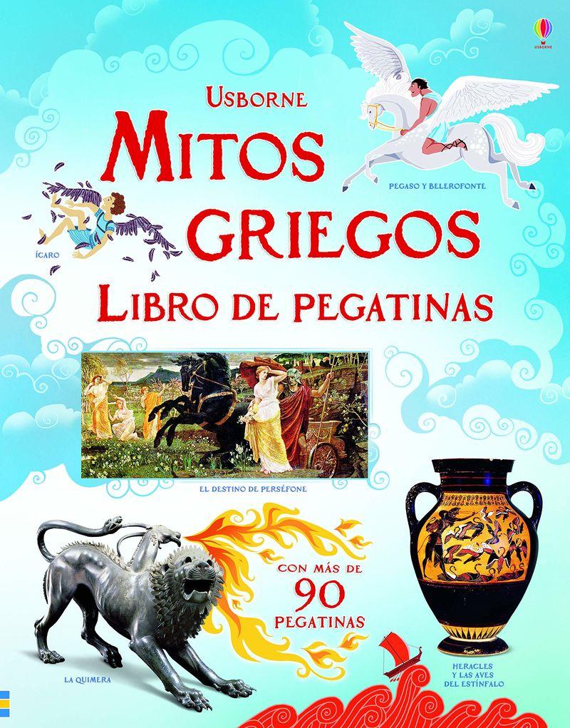 Mitos Griegos - Libros De Pegatinas - Rosie Dickins / Galia Bernstein (il. )
