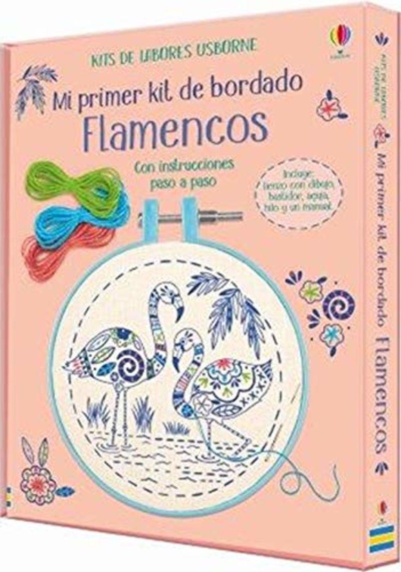 FLAMENCOS - MI PRIMER KIT DE BORDADO