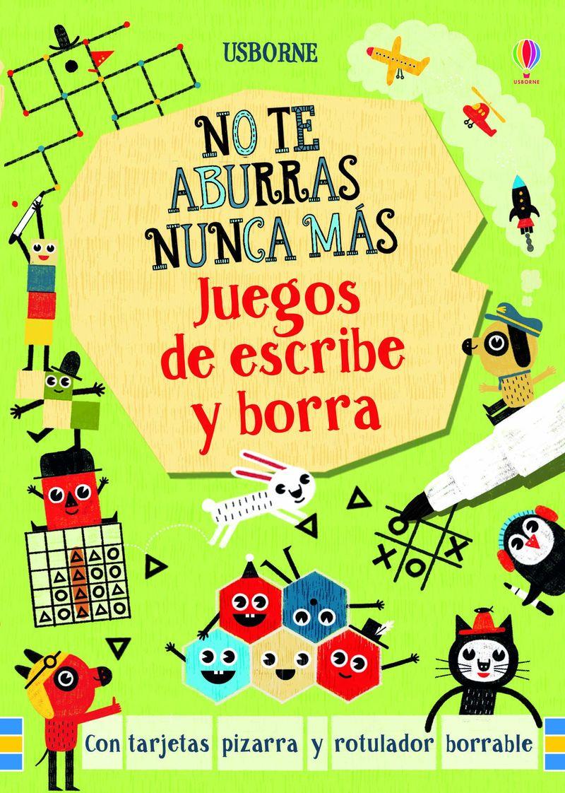 JUEGOS DE ESCRIBE Y BORRA - NO TE ABURRAS NUNCA MAS