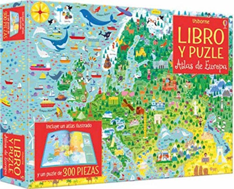 ATLAS DE EUROPA - LIBRO PUZLE