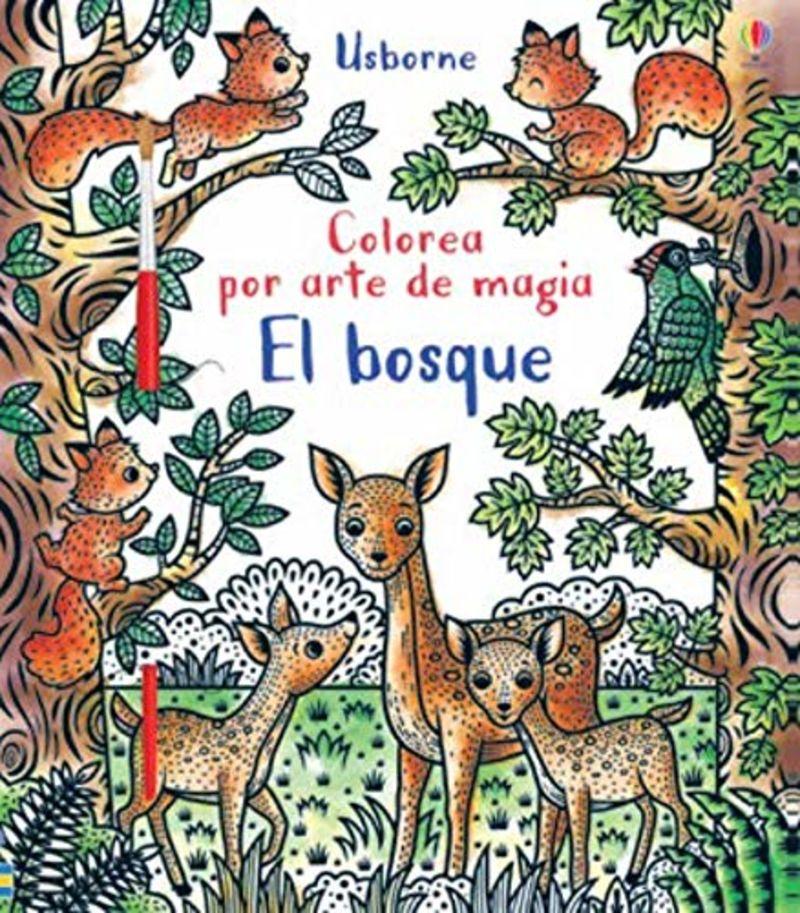 bosque, el - colorea por arte de magia - Federica Lossa