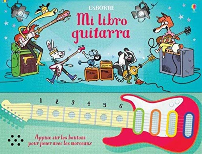 MI LIBRO GUITARRA CON TECLAS MUSICALES