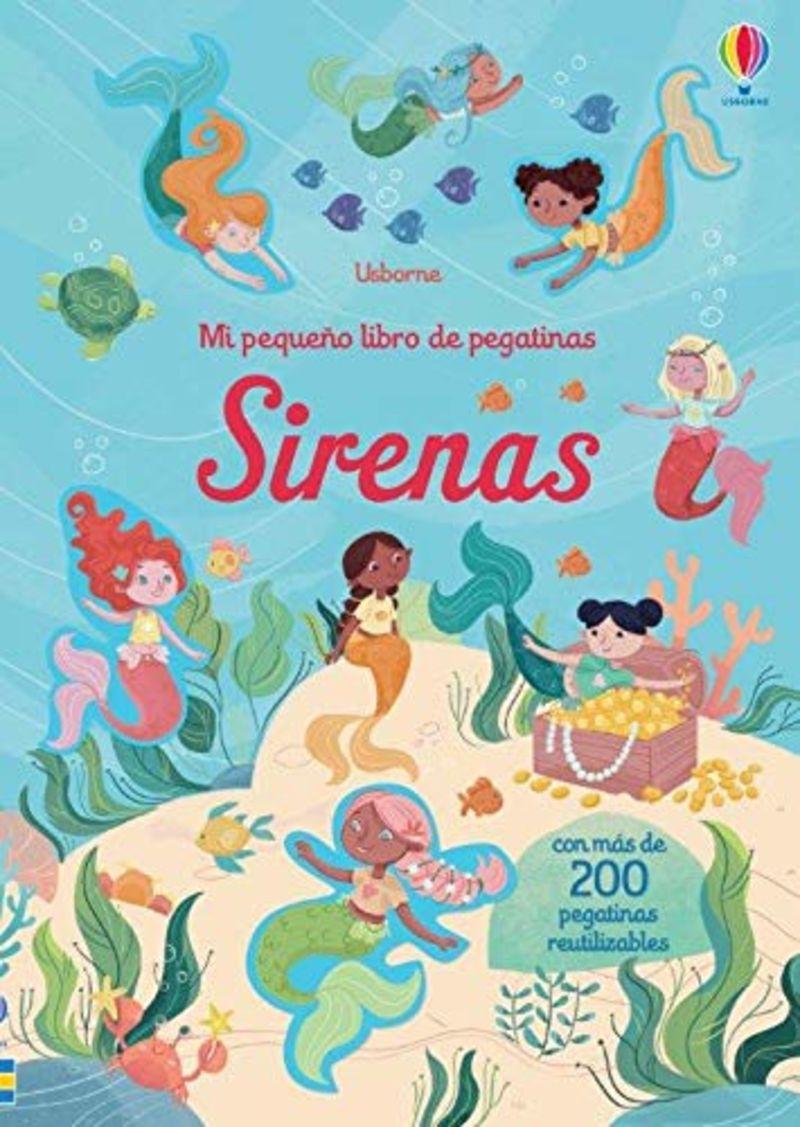 SIRENAS - MI PEQUEÑO LIBRO DE PEGATINAS