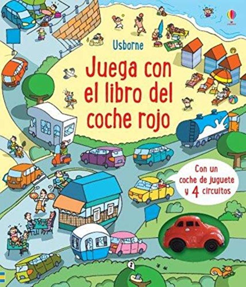 JUEGA CON EL LIBRO DEL COCHE ROJO LIBRO-JUEGO