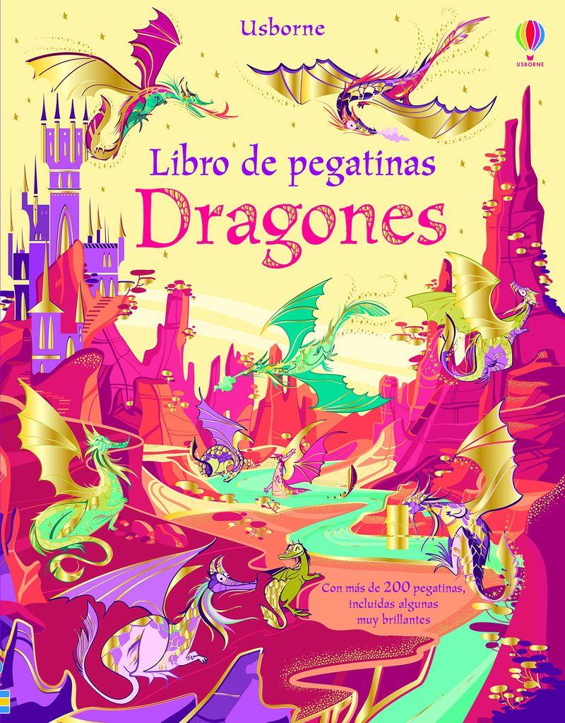 DRAGONES - LIBRO DE PEGATINAS