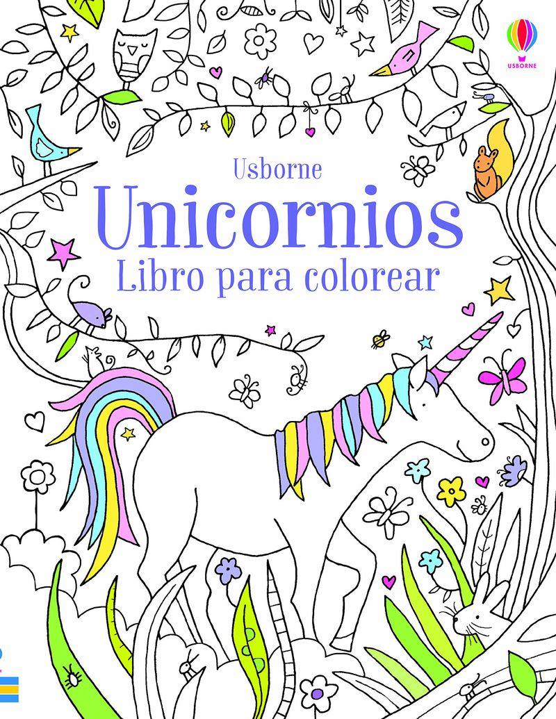 UNICORNIOS - LIBRO PARA COLOREAR