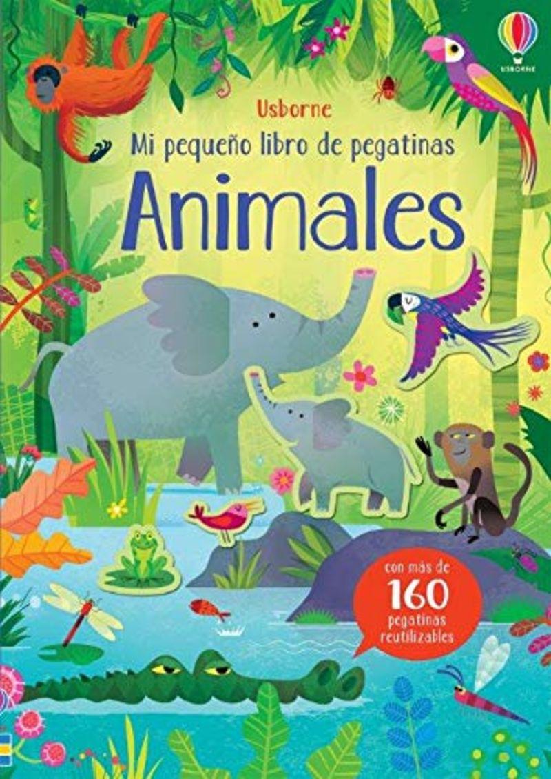 ANIMALES - MI PEQUEÑO LIBRO DE PEGATINAS