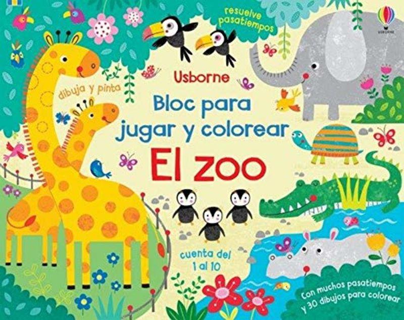 ZOO, EL - BLOC PARA JUGAR Y COLOREAR