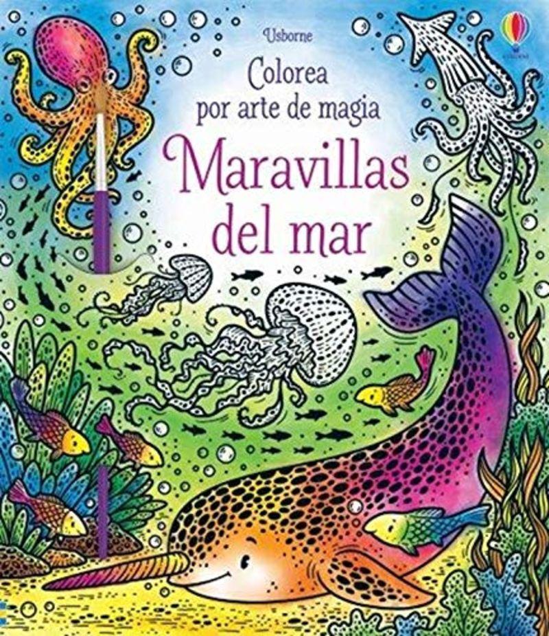 maravillas del mar - colorea por arte de magia - Sam Taplin