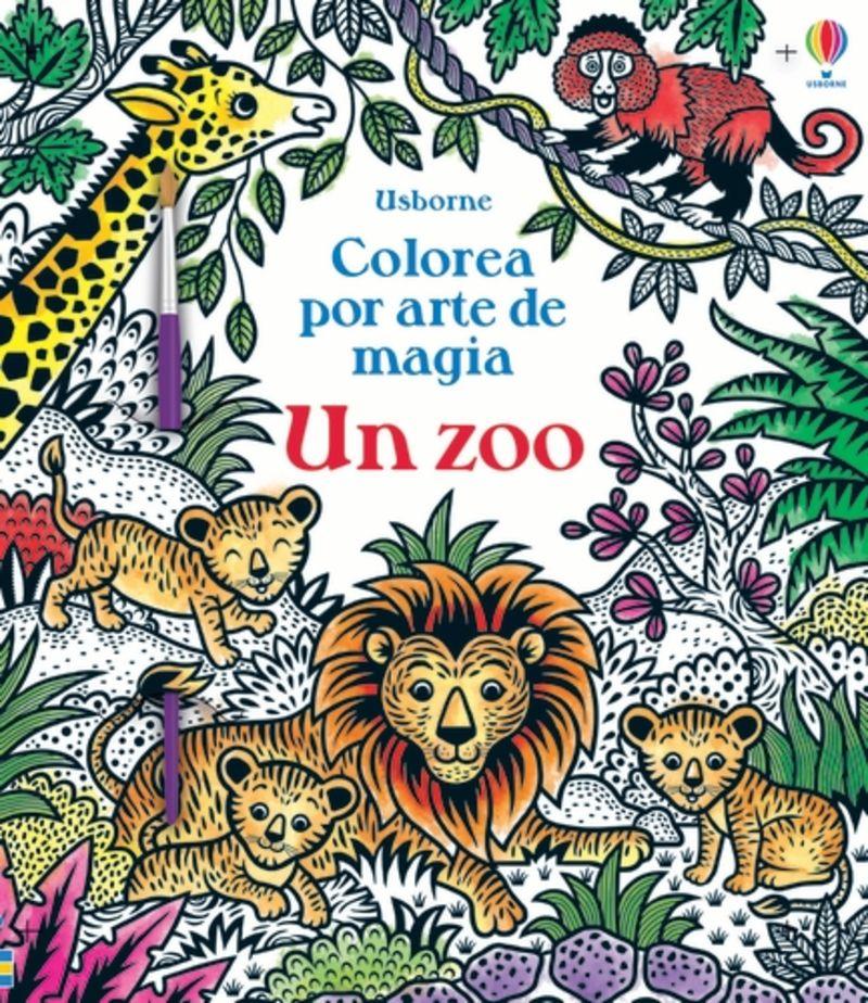 un zoo - colorea por arte de magia - Sam Taplin / Federica Iossa (il. )