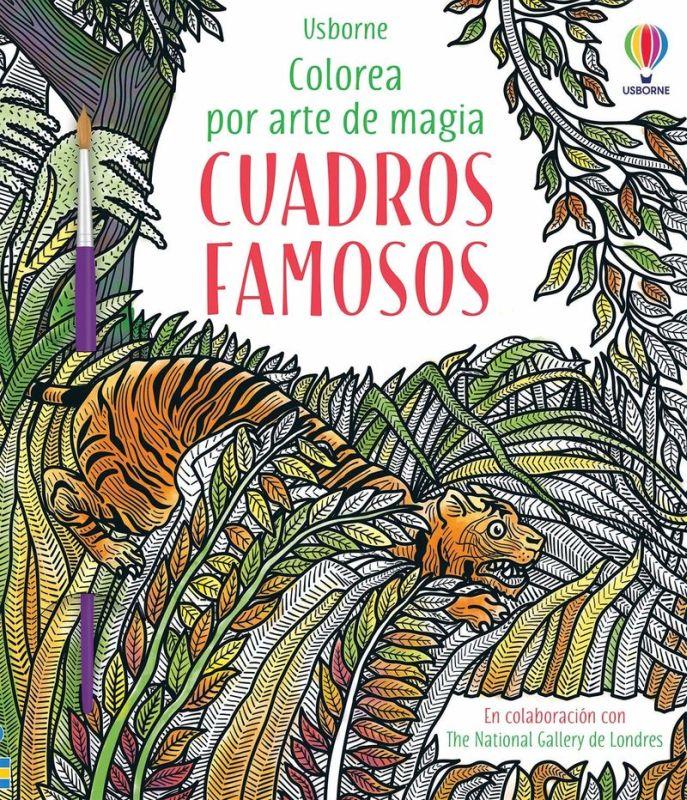 cuadros famosos - colorea por arte de magia - Rosie Dickins / Ian Mcnee (il. )