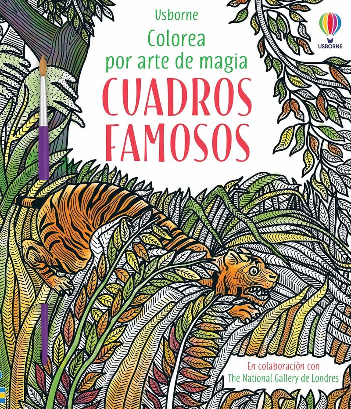 CUADROS FAMOSOS - COLOREA POR ARTE DE MAGIA