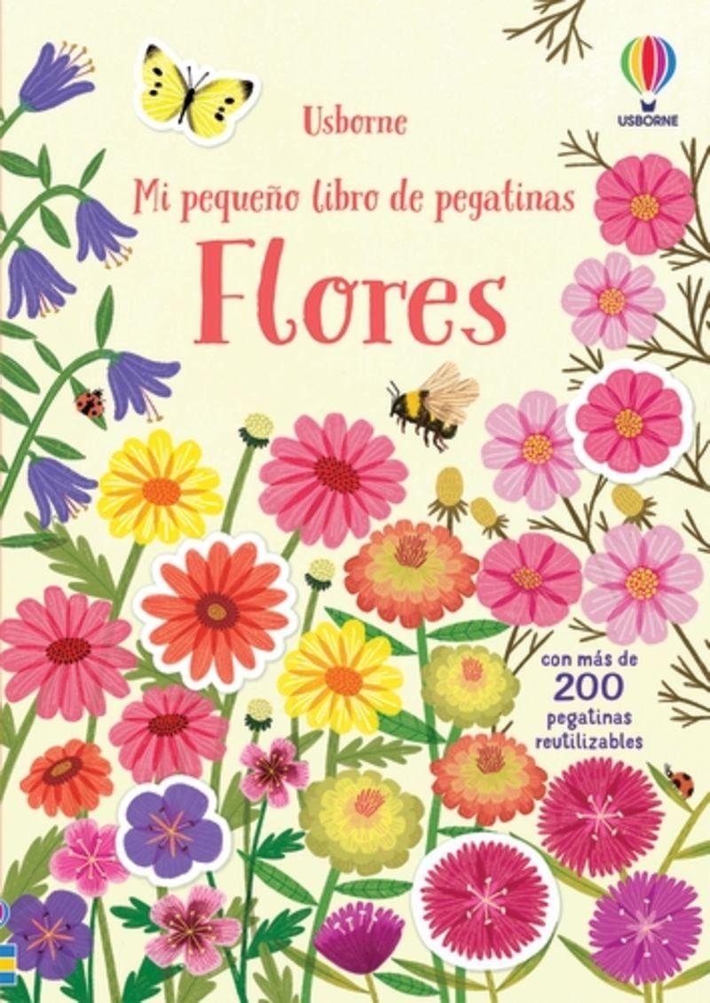 FLORES - MI PEQUEÑO LIBRO DE PEGATINAS