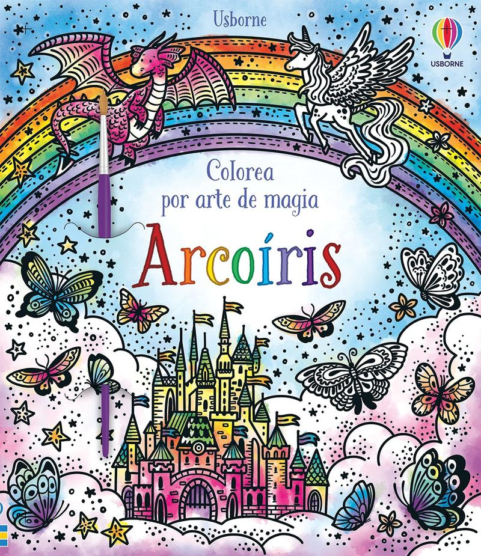 arcoiris - colorea por arte de magia - Abigail Wheatley / Barbara Bongini (il. )