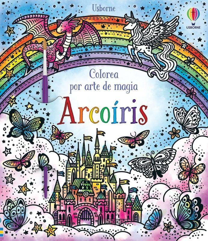 ARCOIRIS - COLOREA POR ARTE DE MAGIA
