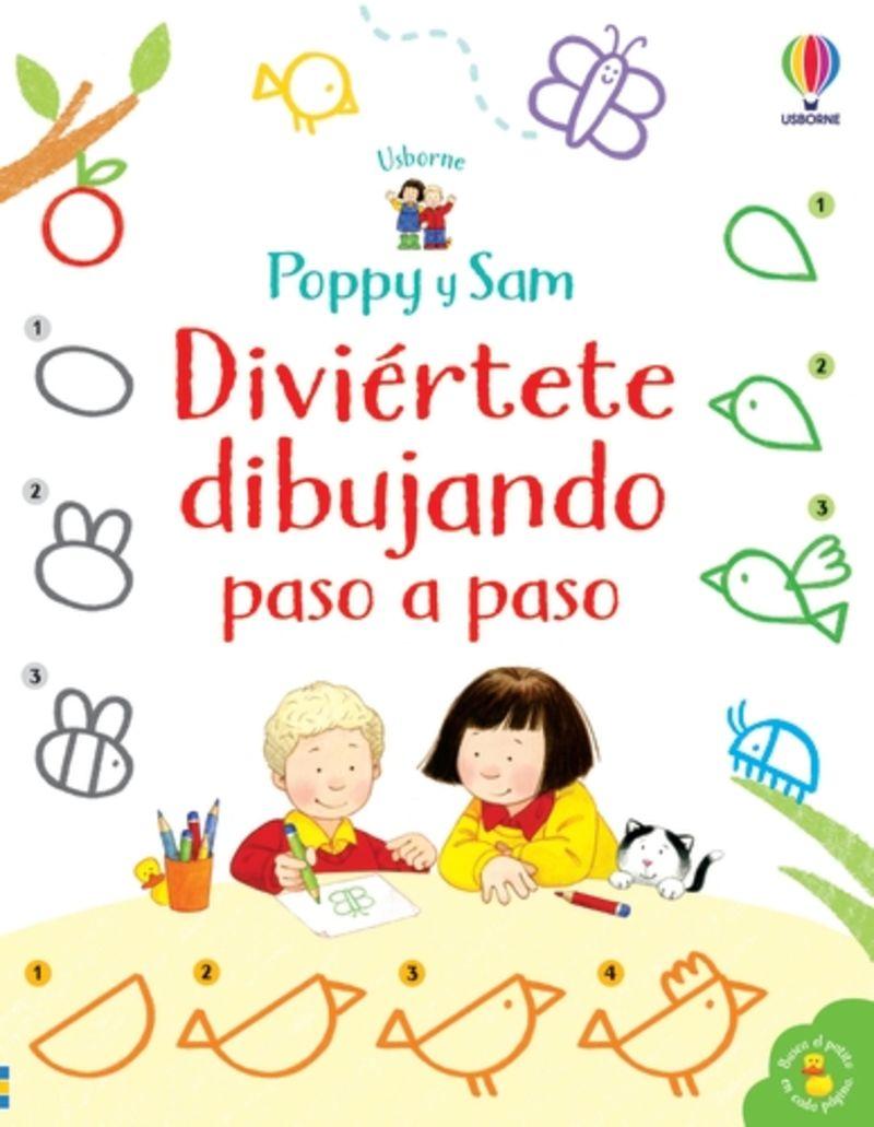 POPPY Y SAM APRENDE DIBUJAR - PASO A PASO
