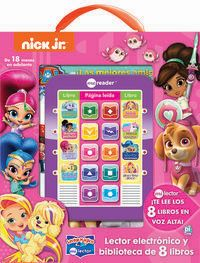 LECTOR MAGICO NICK JR. GIRL ME READER 8BK