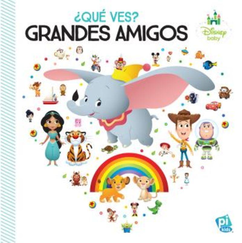 ¿QUE VES? - GRANDES AMIGOS - DISNEY BABY WDYS