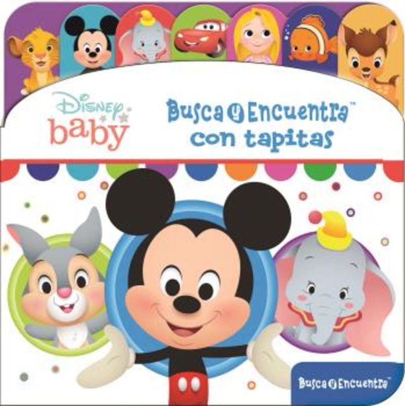 DISNEY BABY - BUSCA Y ENCUENTRA CON TAPITAS