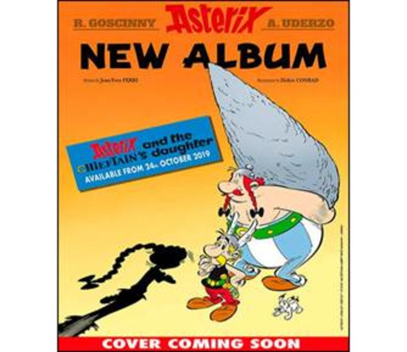 ASTERIX 38 - CHIEFTAIN'S DAUGHTER, THE