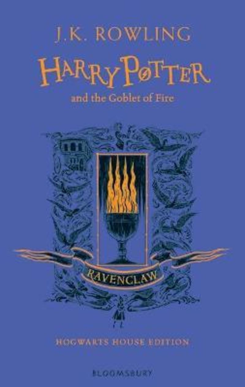 HARRY POTTER AND THE GOBLET OF FIRE (RAVENCLAW ED. )