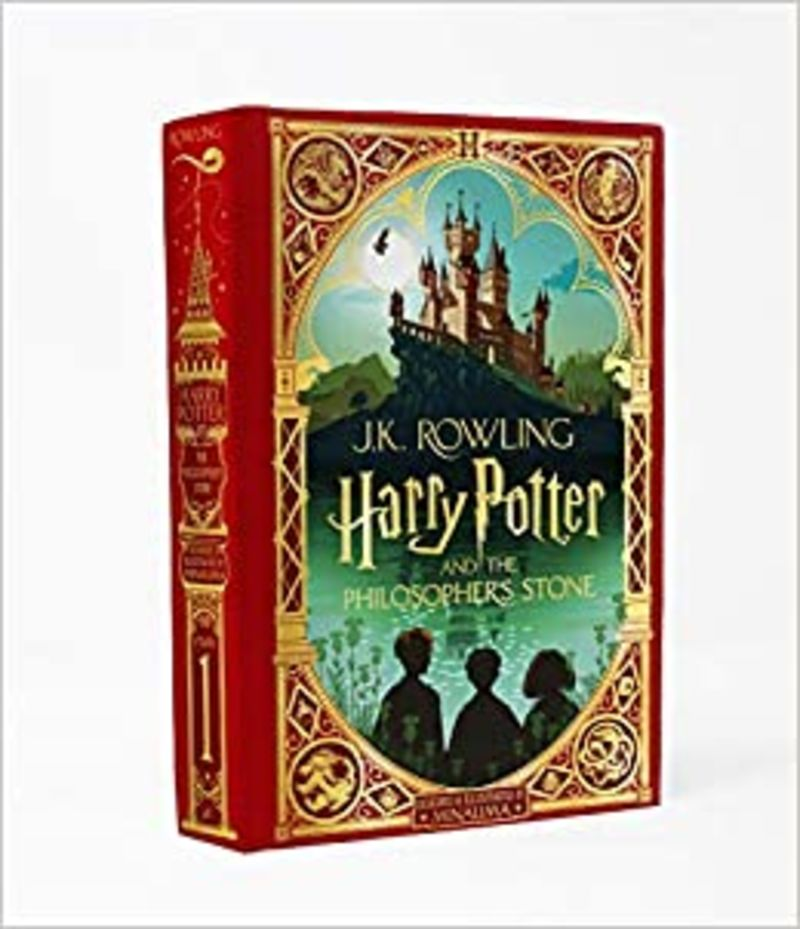 HARRY POTTER AND THE PHILOSOPHER'S STONE (MINALIMA EDITION)