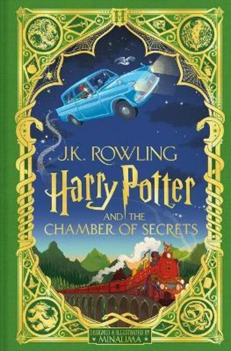 HARRY POTTER AND THE CHAMBER OF SECRETS (MINALIMA ED)