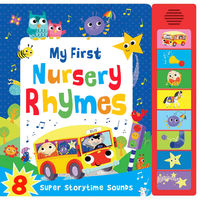 My First Nursery Rhymes (super Sounds) - Aa. Vv.