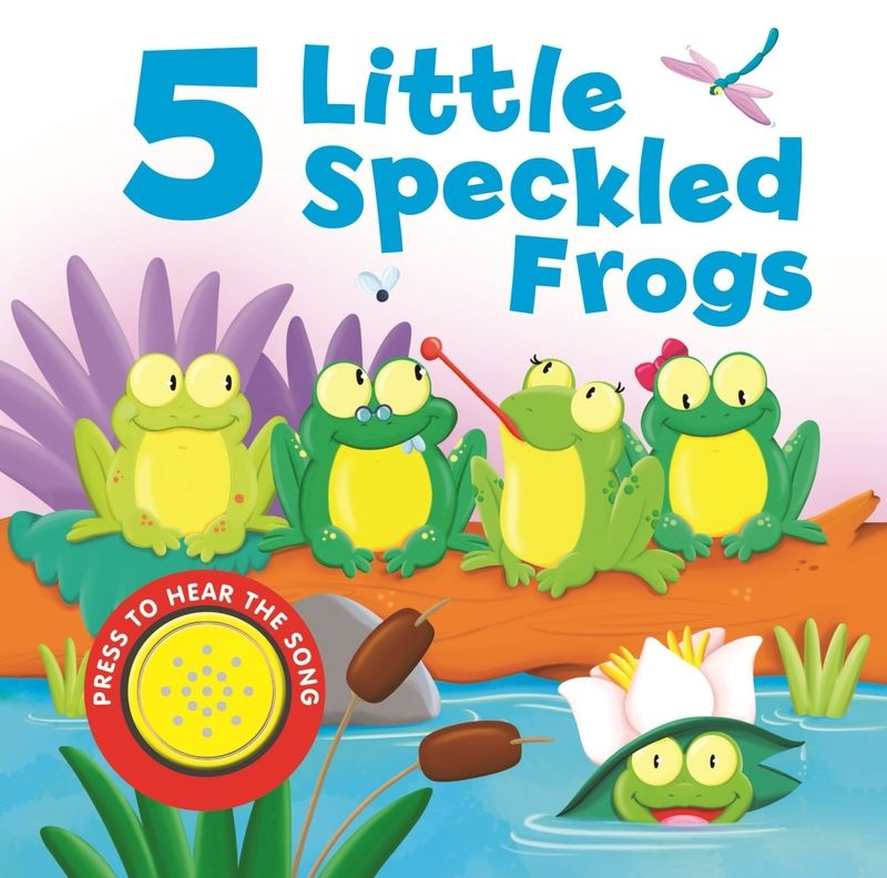 5 Little Speckled Frogs - Aa. Vv.