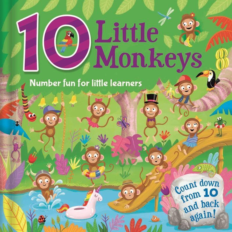 10 Little Monkeys - Aa. Vv.