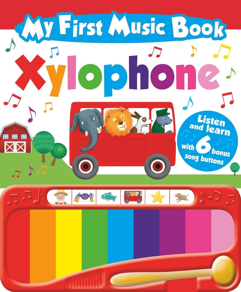 My First Music Book: Xylophone - Aa. Vv.