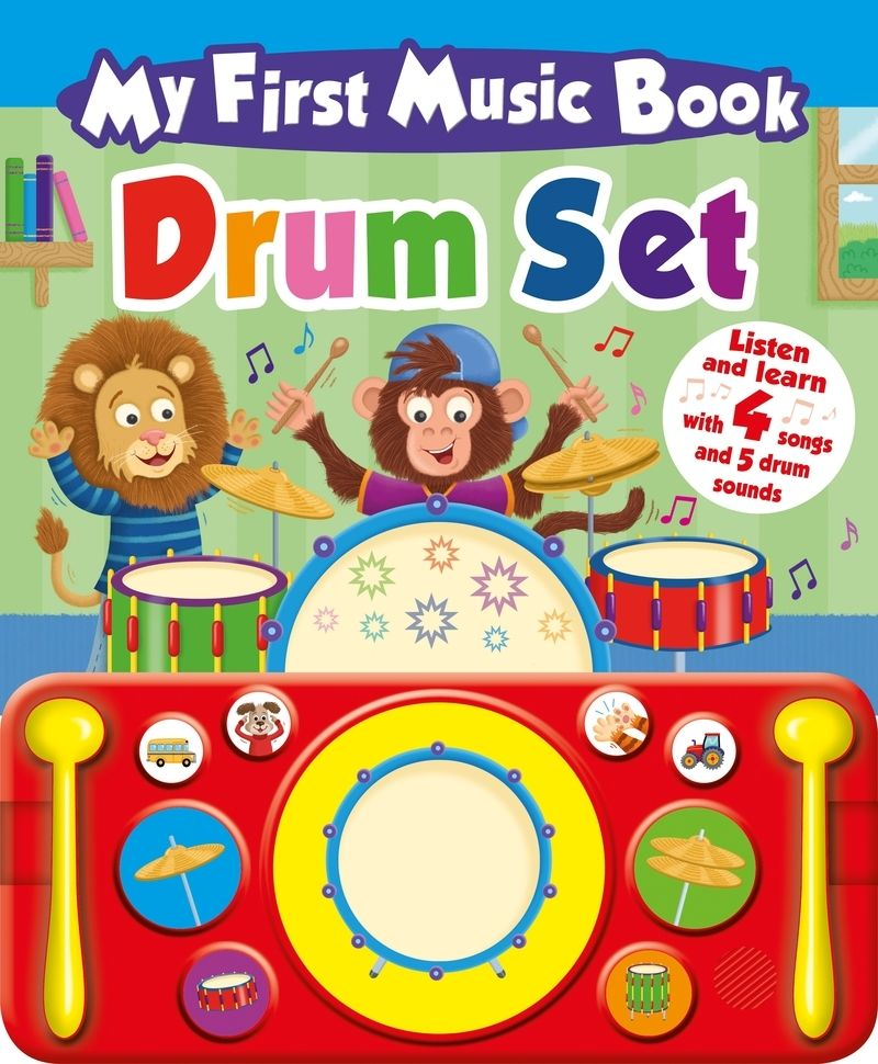 My First Music Book: Drum - Aa. Vv