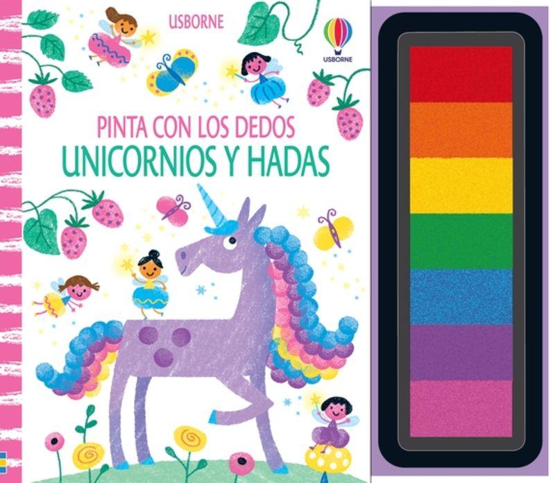 UNICORNIOS Y HADAS - PINTA CON LOS DEDOS