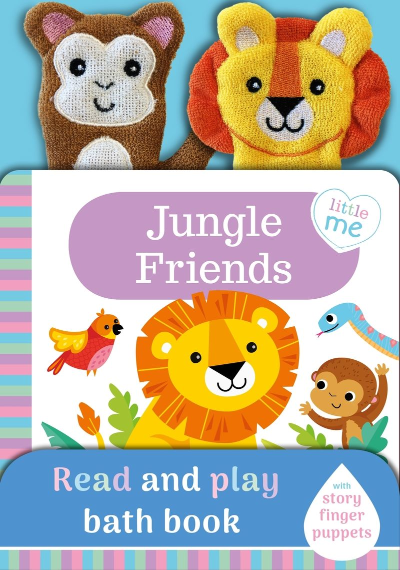 JUNGLE FRIENDS (BATH BOOK)