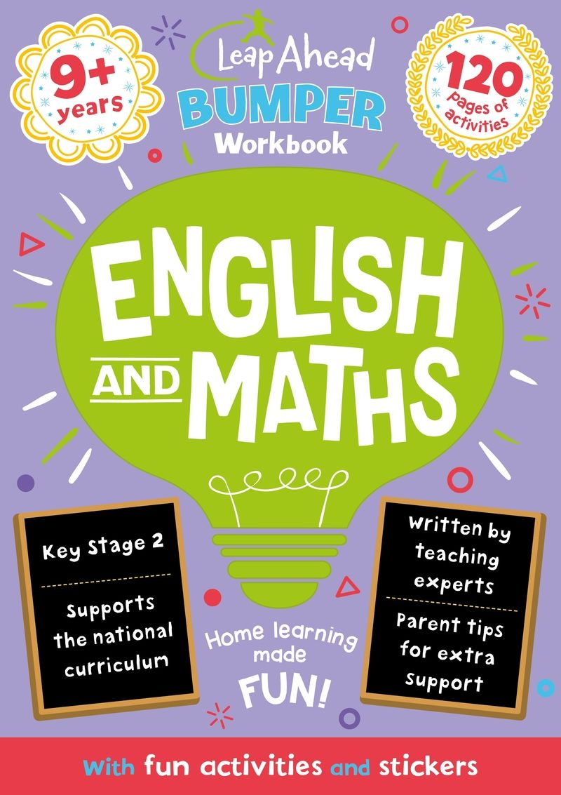 leap ahead bumper workbook: 9+ years english and maths - Aa. Vv.