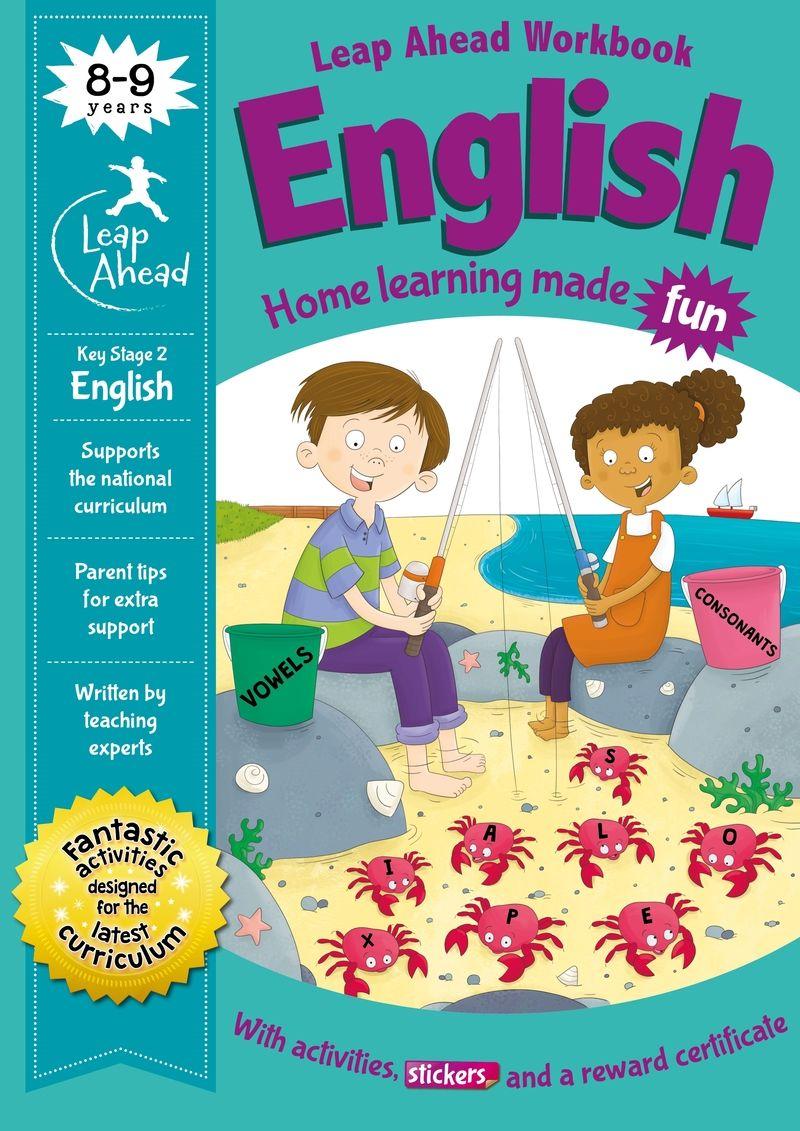 leap ahead: 8-9 years english - Aa. Vv.
