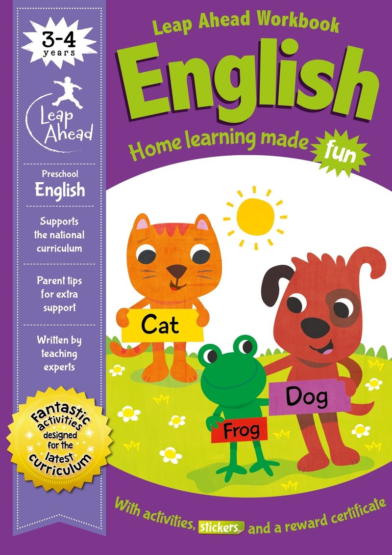 leap ahead - 3-4 years english - Aa. Vv.