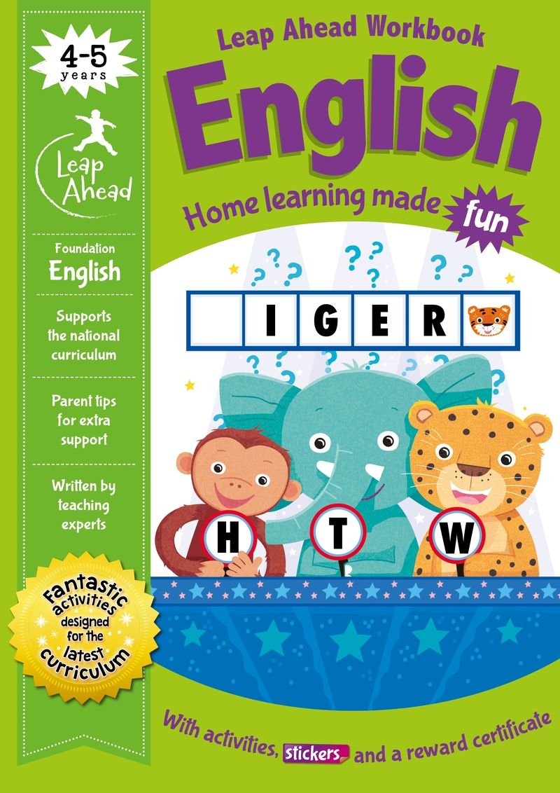 leap ahead - 4-5 years english - Aa. Vv.