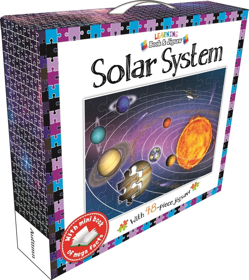 SOLAR SYSTEM - LEARNING BOOK AND JIGSAW