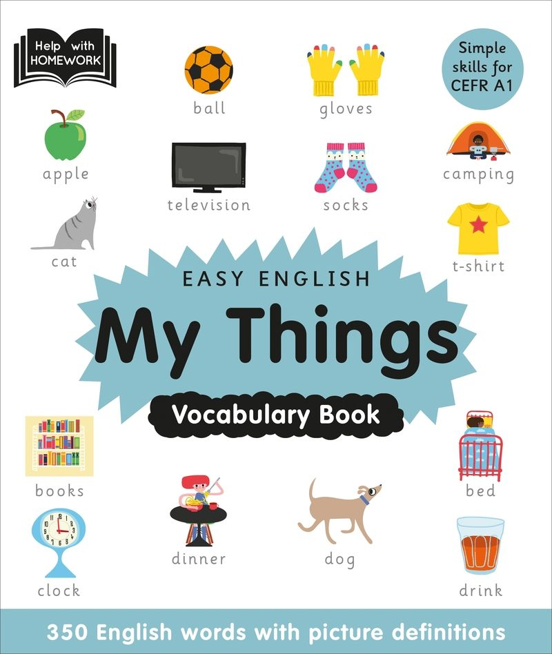 my things - easy english vocabulary - Aa. Vv.