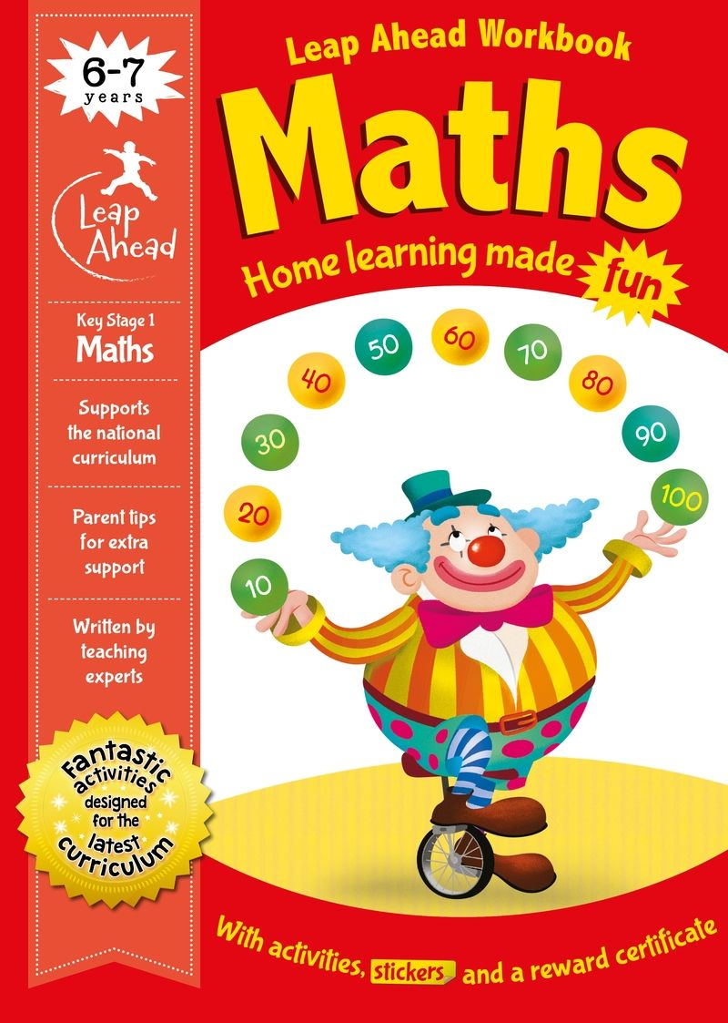 leap ahead - 6-7 years maths - Aa. Vv.