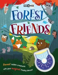 hide-and-seek forest friends (magical light book) - Aa. Vv.